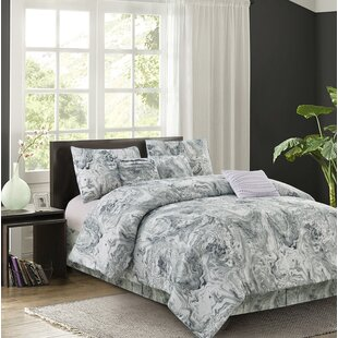 Aghalee 7 Piece Reversible Comforter Set