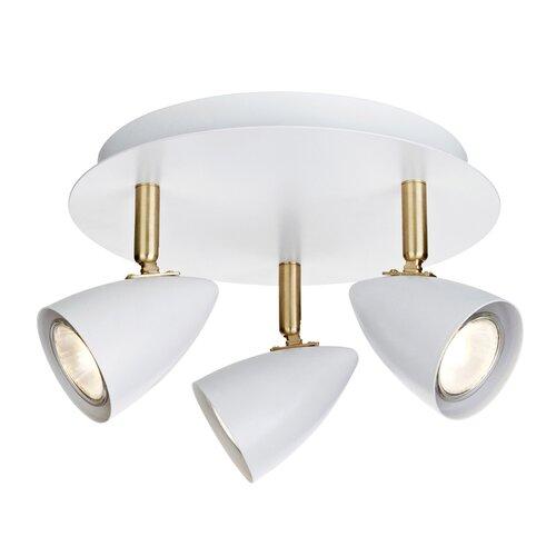 Berner 3-Light Ceiling Spotlight Latitude Run