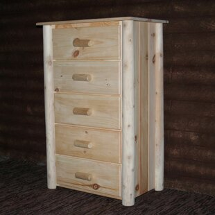 Timothy 5 Drawer Chest by Millwood Pines