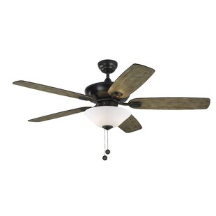 Reviews 52 Whisenant Colony Max Plus 5 Blade LED Ceiling Fan with Remote By Ophelia & Co.