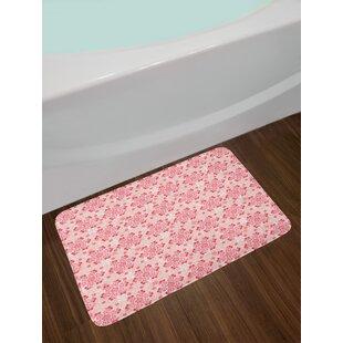 62442d305dd Ambesonne Cherry Blossom Bath Mat by