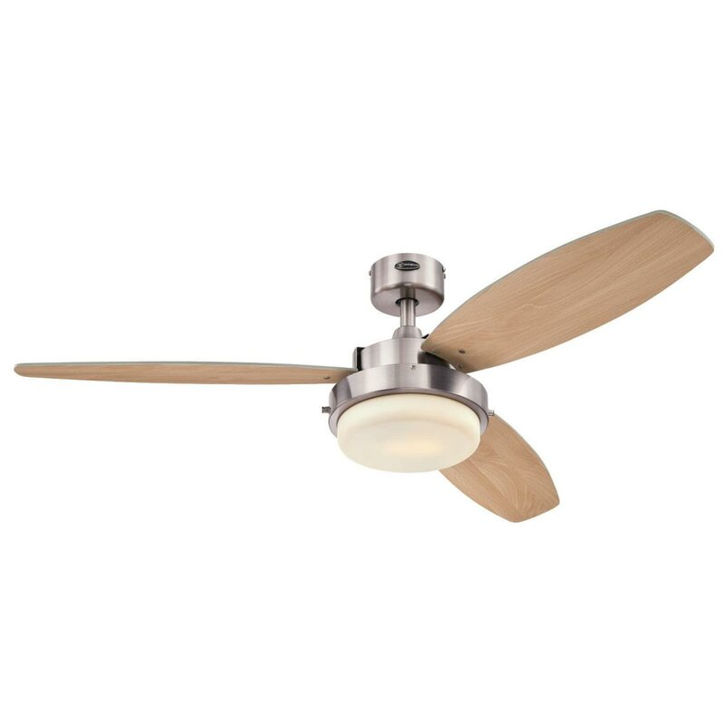 Drum Ceiling Fan With Light | Wayfair