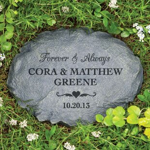 Khatri Forever And Always Personalized Garden Stone By August Grove