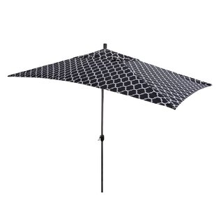 Breakwater Bay Sherlyn 10' x 6' Rectangular Market Umbrella