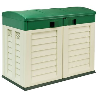 4.5 Ft. W X 3 Ft. D Plastic Horizontal Garbage Shed By Starplast