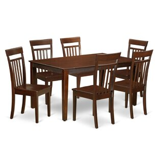 Smyrna 7 Piece Dining Set by Charlton Home Today Only Sale