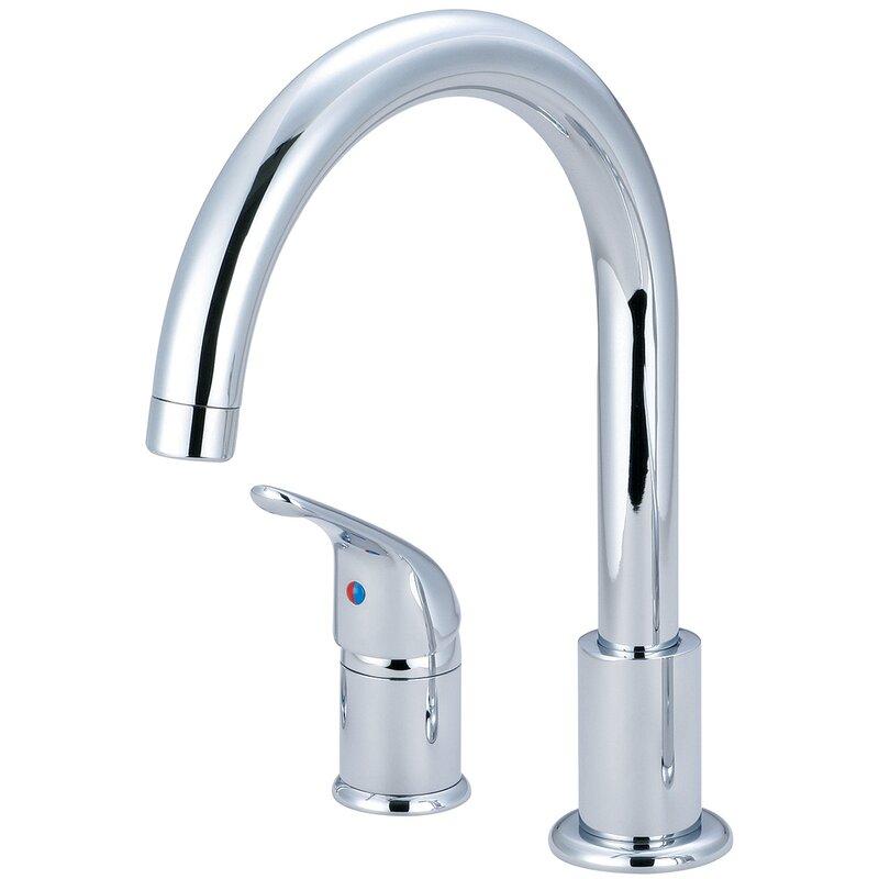 pioneer premium single handle kitchen faucet wayfair rh wayfair com