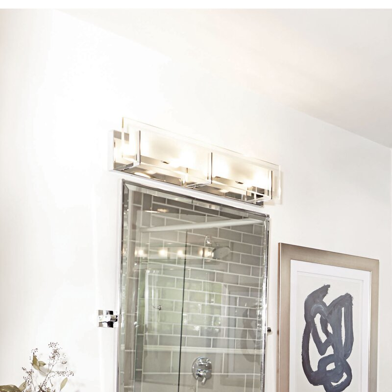 Wade logan frances 4 light bath bar reviews wayfair frances 4 light bath bar aloadofball Images