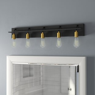 Usry 5-Light Bath Bar by B..