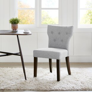 Celeste Upholstered Dining Chair (Set of 2) Latitude Run