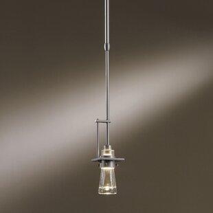 Erlenmeyer 1-Light Bulb Pendant by Hubbardton Forge