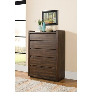 Worden 5 Drawer Lingerie Chest by Loon Peak