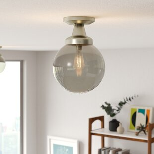 Tristin 1-Light Semi-Flush Mount by Langley Street