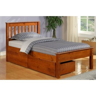 Stag's Leap Twin Slat Bed with Storage