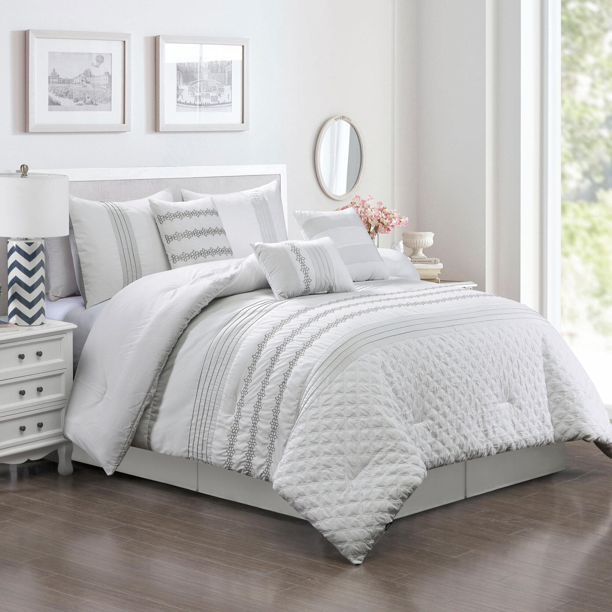 House Of Hampton Tindle Comforter Set Reviews Wayfair