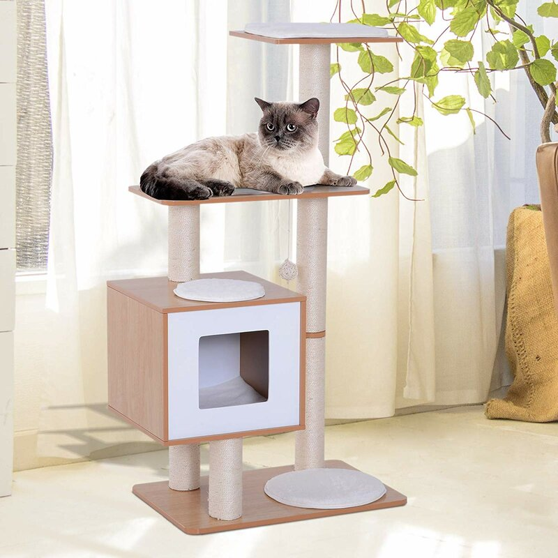 Archie Oscar Arinna 120cm Cat Tree Reviews Wayfair Co Uk