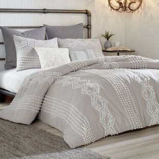 Lyerly Cut Geo Comforter Set