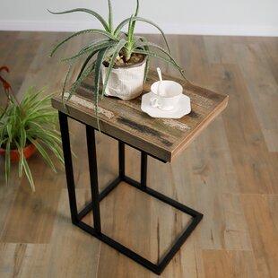 Czapla Pinewood C Shape End Table