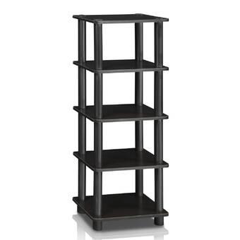 Trent Austin Design Augustus 26 H X 40 W Metal Etagere Bookcase Reviews Wayfair