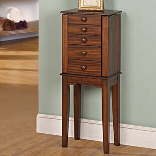 Prolific Jewelry Armoire with Mirror by Wildon Home�