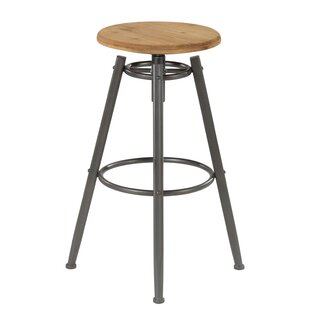 Briggs Height Adjustable Bar Stool By Borough Wharf