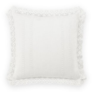 Crochet 100% Cotton Pillow Cover by Laura Ashley Home