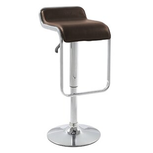 Adjustable Height Swivel Bar Stool by Fin..