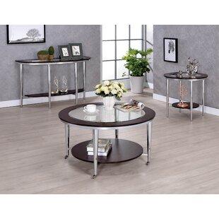 Lefker 2 Piece Coffee Table Set by Orren Ellis