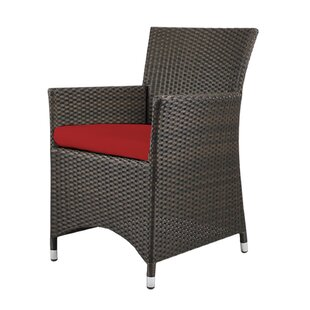 Roose Patio Dining Chair with Cushion