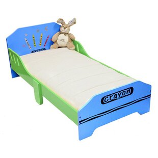 Ellington Circle Junior Convertible Toddler Bed by Zoomie Kids