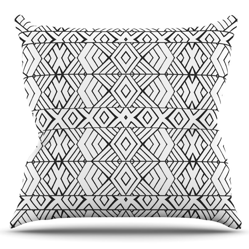Tribal Expression By Pom Graphic Design Outdoor Throw Pillow Allmodern