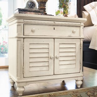 Clearance Badgett 1 Drawer Nightstand by Canora Grey