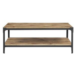 Arboleda Rustic Wood Coffee Table