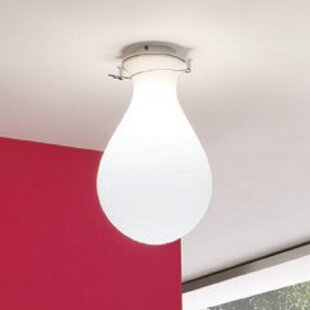 ZANEEN design Ona 1-Light Flush Mount