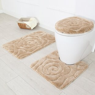 Prestige 3 Piece Bath Rug Set