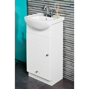 Bathroom Vanity 30 X 16 18 inch deep bathroom vanity | wayfair