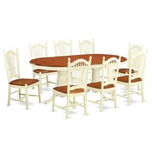 Pilcher 9 Piece Dining Set August Grove