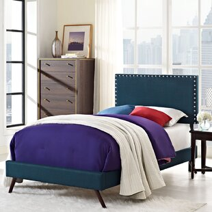 Clymer Upholstered Platform Bed by Mercer41