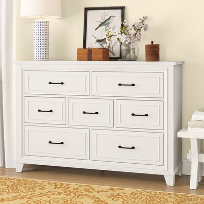 Robitaille Weathered 7 Drawer Dresser
