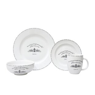 Table Graces 16 Piece Dinnerware Set, Service for 4