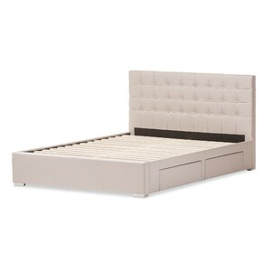 Myrrine Upholstered Storage Platform Bed