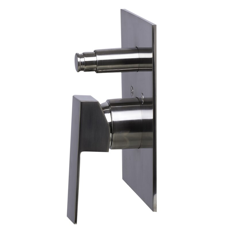 Alfi Brand Shower Valve Mixer with Square Lever Handle and Diverter ...
