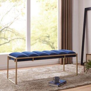 Mercer41 Livia Upholstered Bench