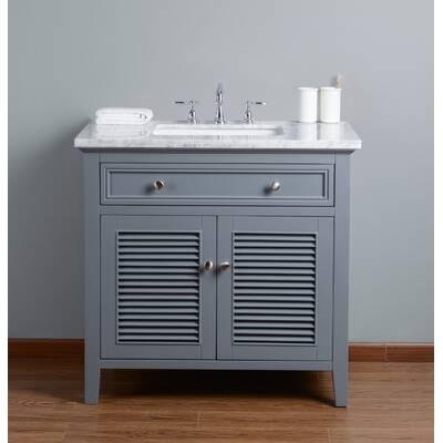 Beachcrest Home Newtown 36 Single Bathroom Vanity Set Reviews