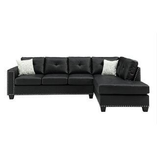 Annemore Reversible Sectional with Ottoman by Latitude Run SKU:DC623928 Details