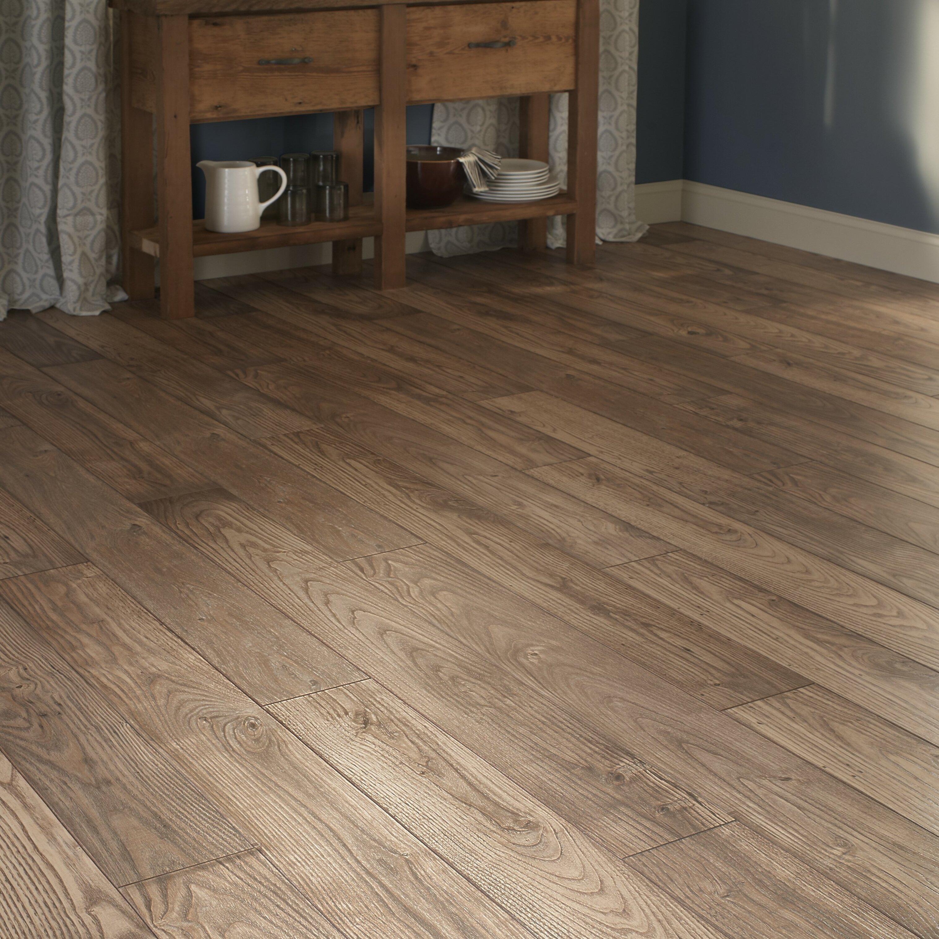 Mannington Restoration 6 X 51 12mm Chestnut Laminate Flooring In Natural Wayfair