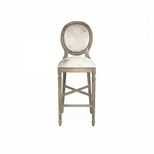 Arvidson Cowhide Bar Stool by One Allium ..