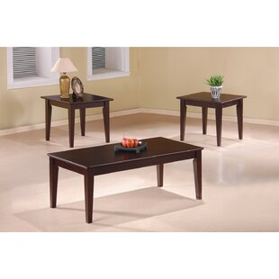 Compare prices Ione 3 Piece Coffee Table Set By Wildon Home ®