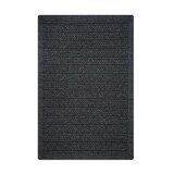 Doan Ultra Durable Braided Charcoal Gray Indoor/Outdoor Area Rug byGracie Oaks