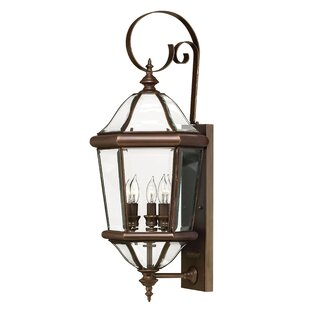 Augusta 3-Light Outdoor Wall Lantern By Hinkley Lighting Outdoor Lighting